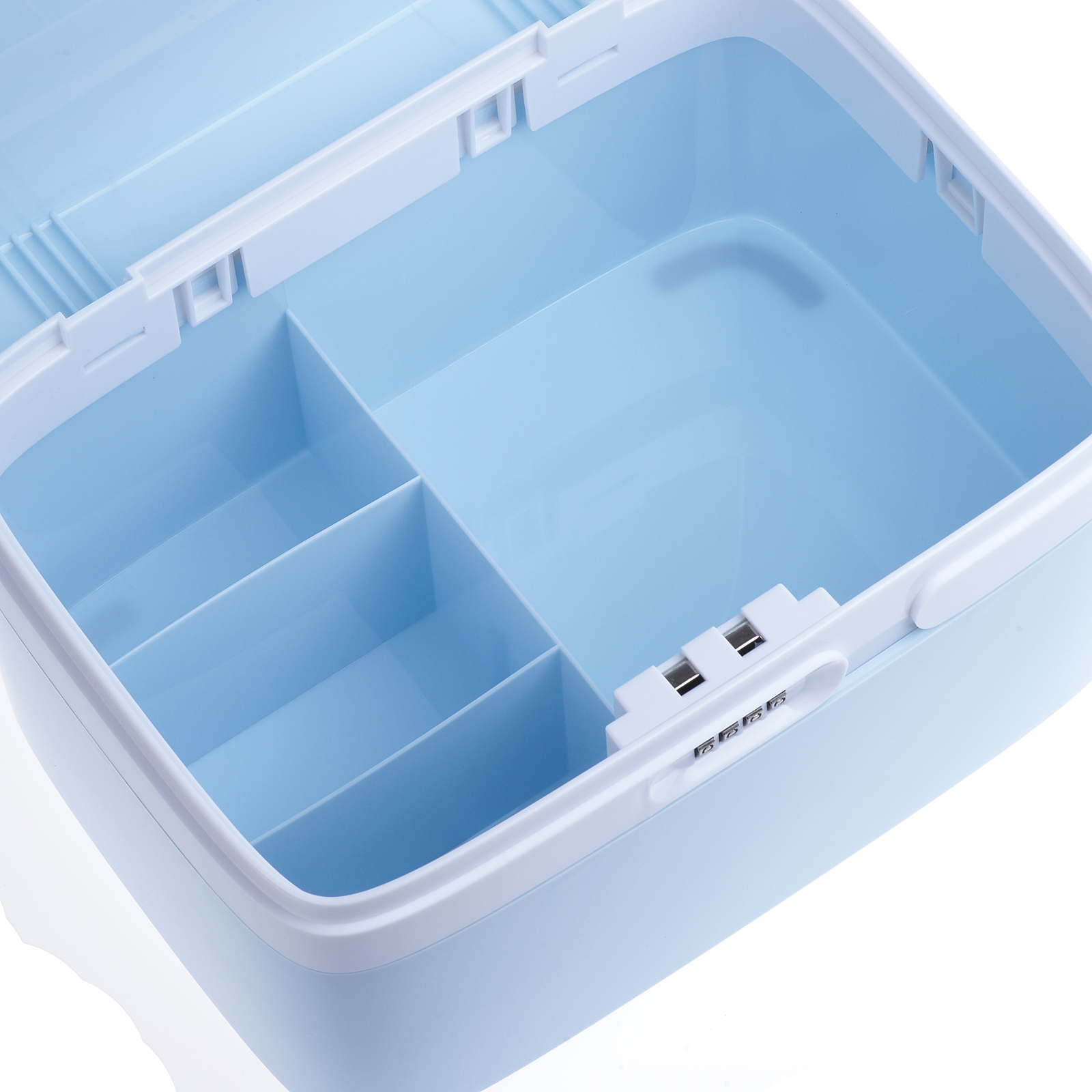 Details about First Aid Box Medical Emergency Case Safe Lockable Medicine  Storage Box Portable