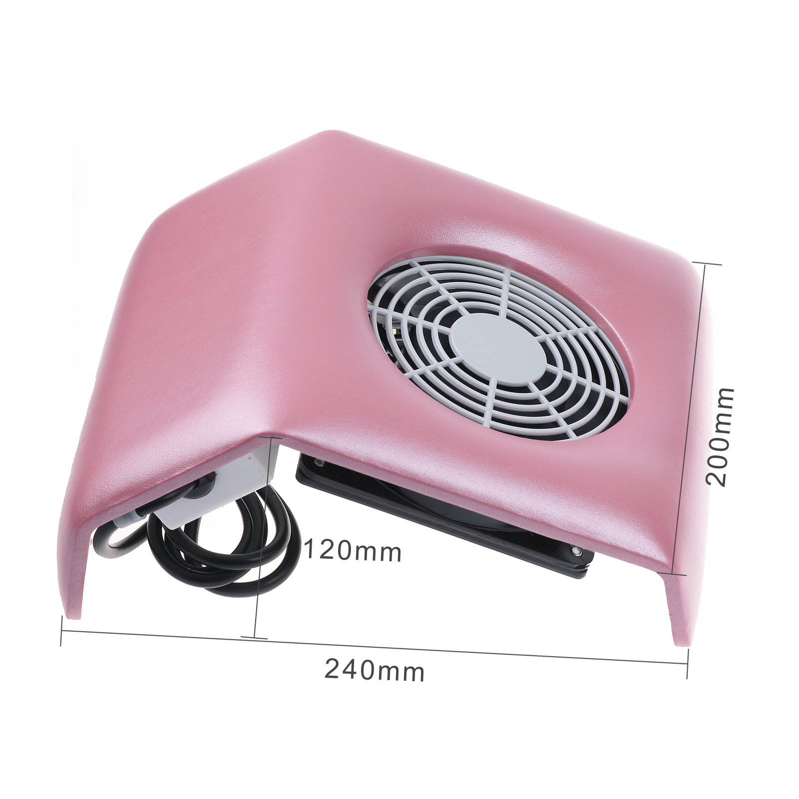 New Salon Suction Dust Collector Vacuum Cleaner Manicure Machine For ...